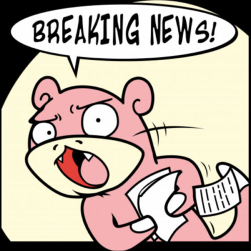 Slowpoke Breaking News Pokemon GO