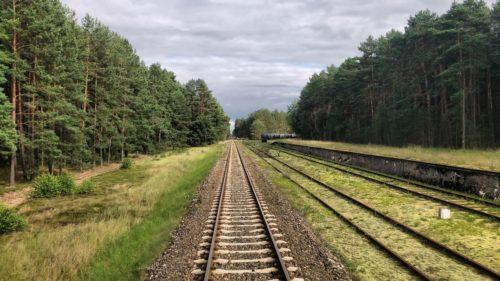 Jazda pociągiem, Toruń
