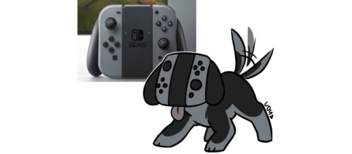Nintendo Switch Maskotka