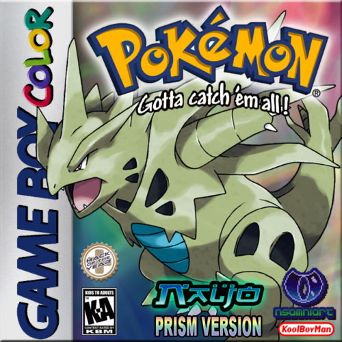 Pokémon Prism Fake Cover