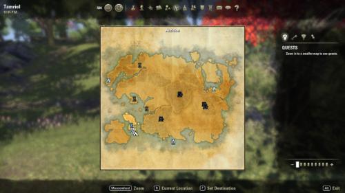 Elder Scrolls Online Świat gry