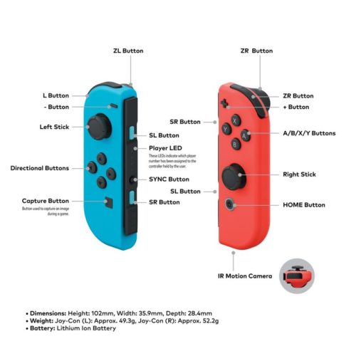Nintendo Switch Joy-cons