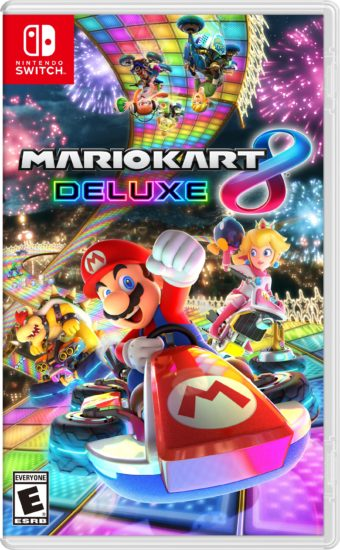 Nintendo Switch Mario Kart 8 Deluxe boxart