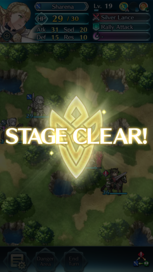 Fire Emblem Heroes Stage Clear