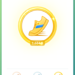 Pokemon GO Achievment kilometry