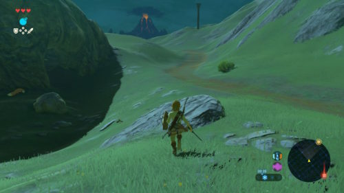 The Legend of Zelda Breath of The Wild Podróż