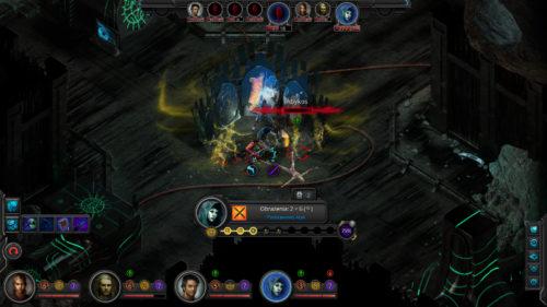Torment: Tides of Numenera combat