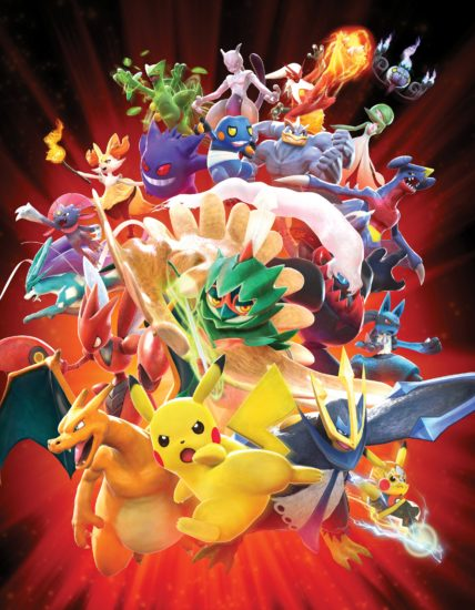 Pokken Tournament DX grafika