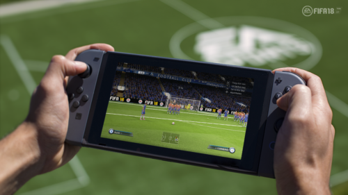 Switch FIFA 18 E3 2017