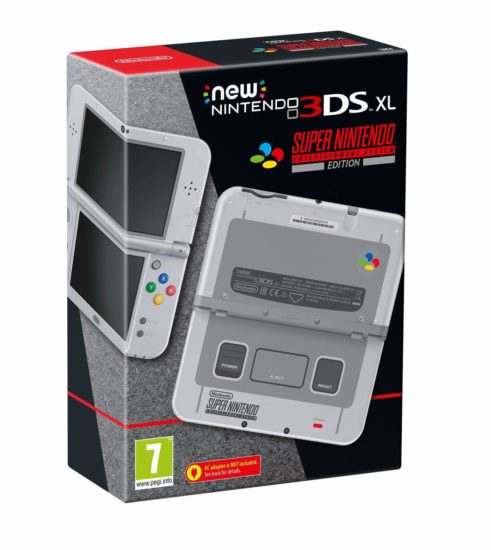 Gamescom 2017 New Nintendo 3DS XL SNES edition