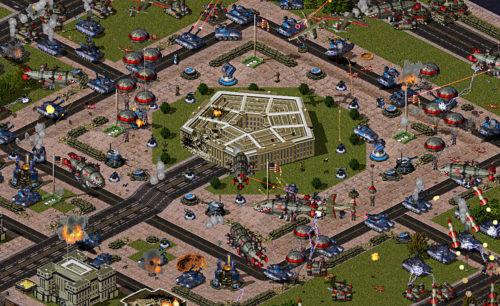 Mental Omega Obrona Pentagonu Kampania Singleplayer