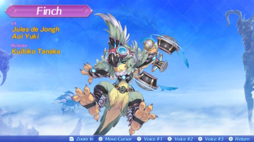 Xenoblade Chronicles 2 Finch