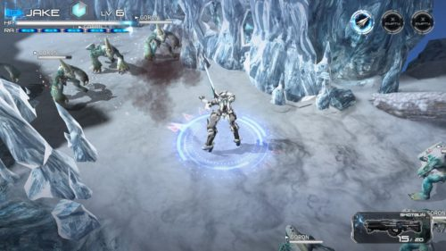 Implosion Switch Arena of Valor na Nintendo Switch