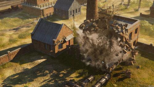 Iron Harvest destrukcja otoczenia