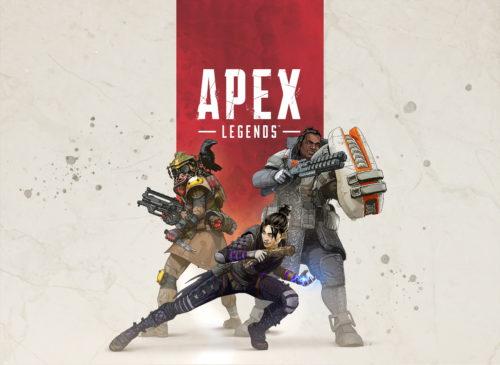 Oficjalny artwork dla Apex Legends, nowego drużynowego Battle Royale od Respawn, a wydawanego przez Electronic Arts