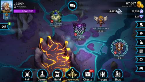 Gems of War Gameplay