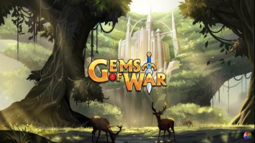 Gems of War ekran ładowania i logo