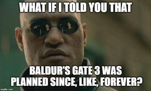 Baldur's Gate 3 powstawanie