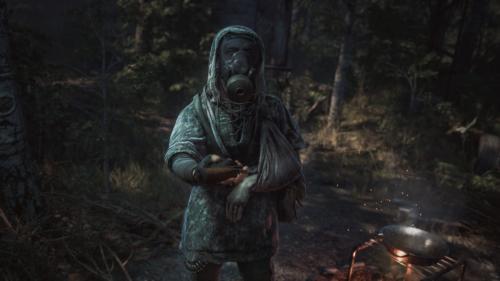 Chernobylite Dej pistolet, mam horo rękę