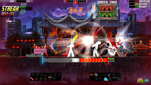 One Finger Death Punch 2 Golden Sword