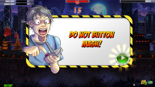 One Finger Death Punch 2 DO NOT BUTTON MASH