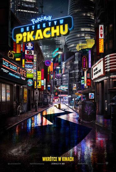 Plakat detektyw pikachu