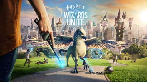 Harry Potter Wizards Unite - keyart