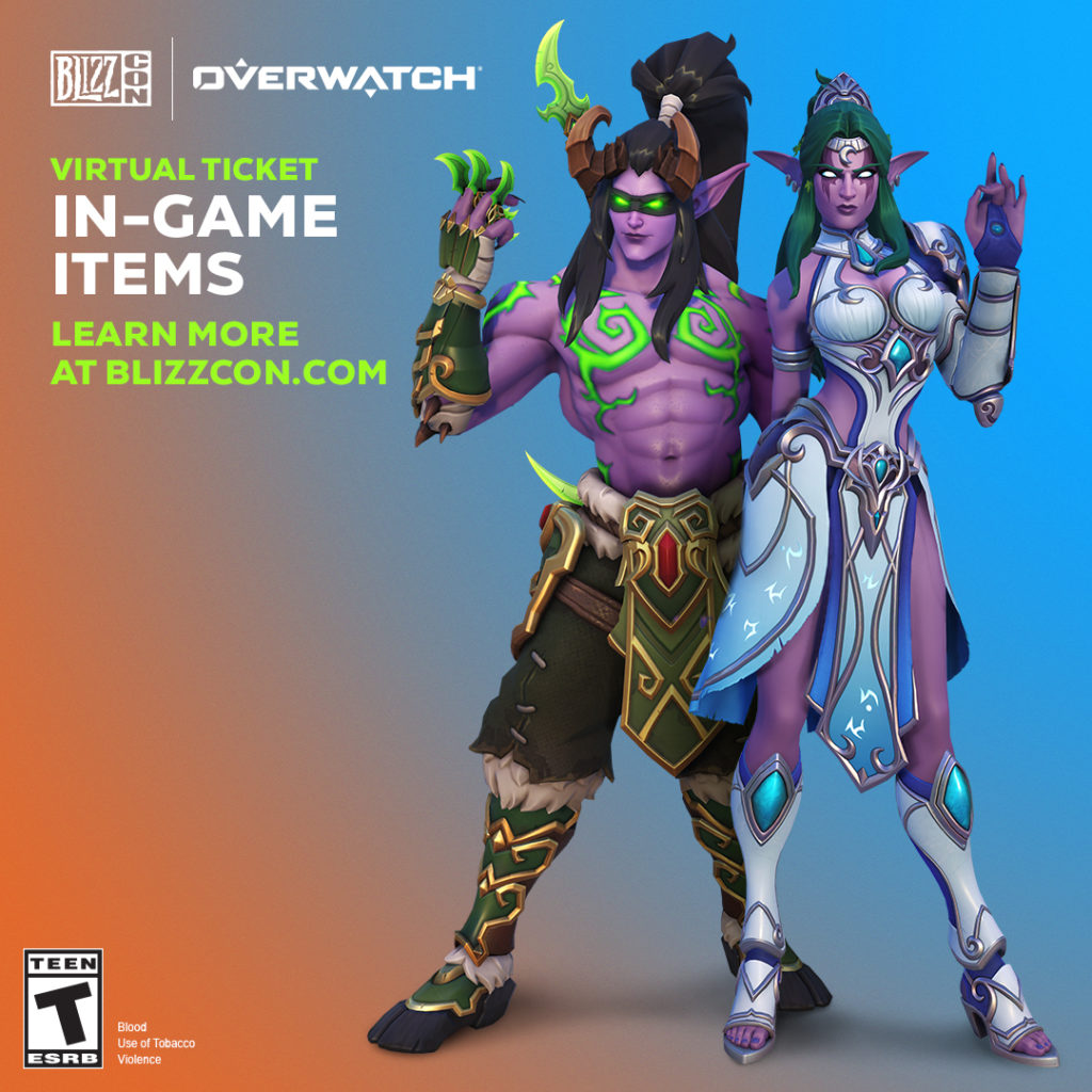 Blizzcon 2019 virtual ticket