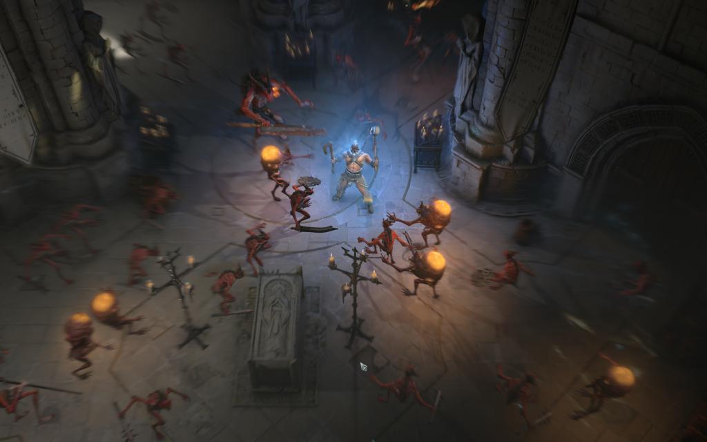 Diablo 4 Upadli Fallen Barbarzyńca Barbarian Screenshot