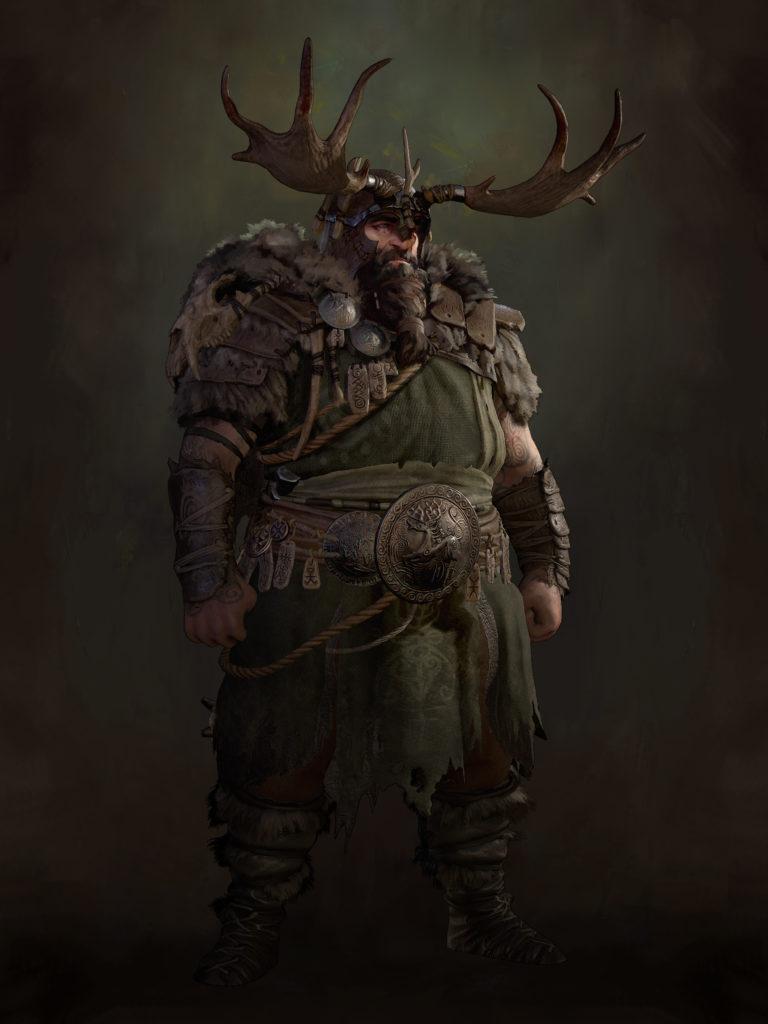 Druid Diablo 4 Concept Art