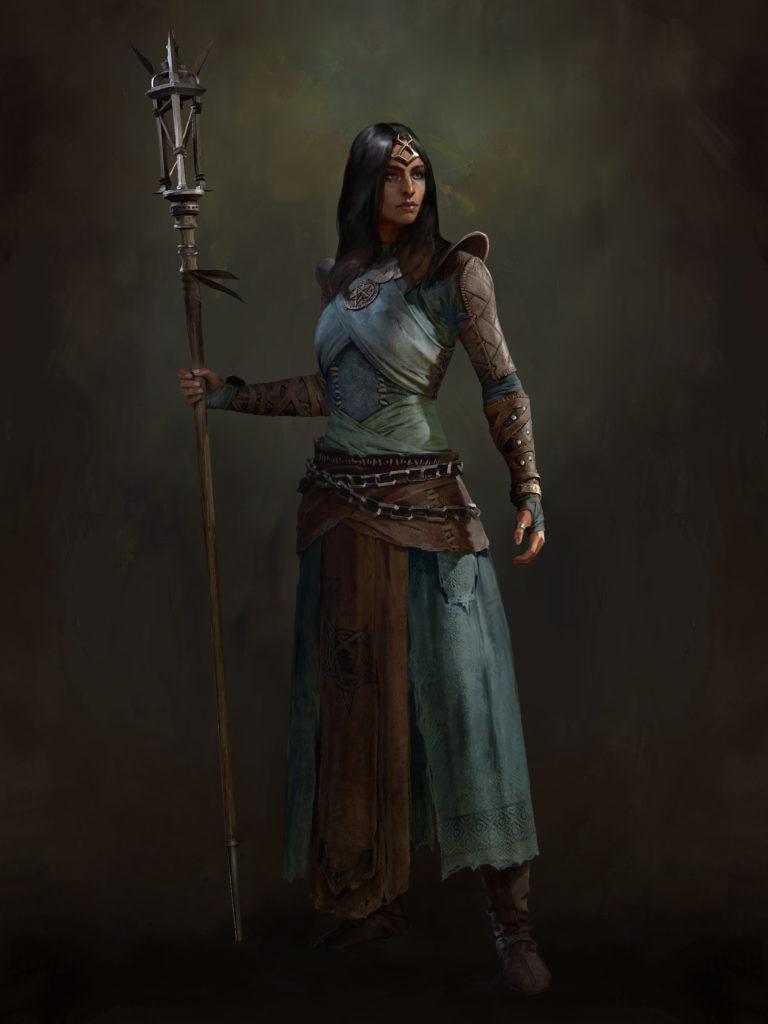 Sorcerer Diablo 4 Concept Art