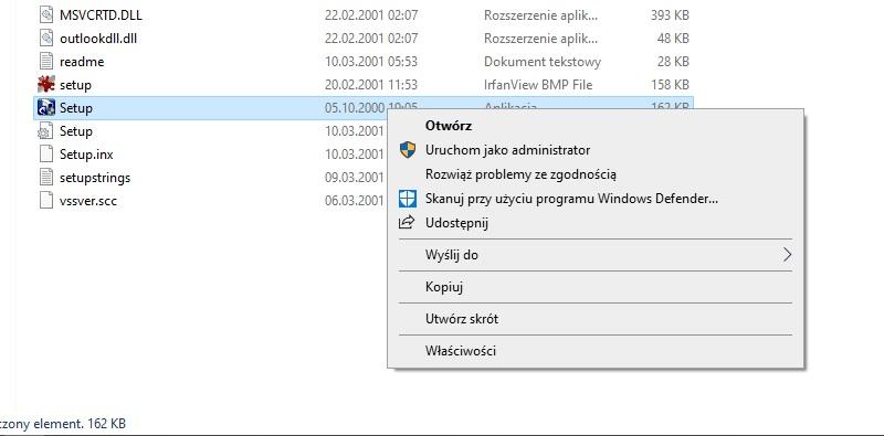 Black & White na Windows 10 Instalacja