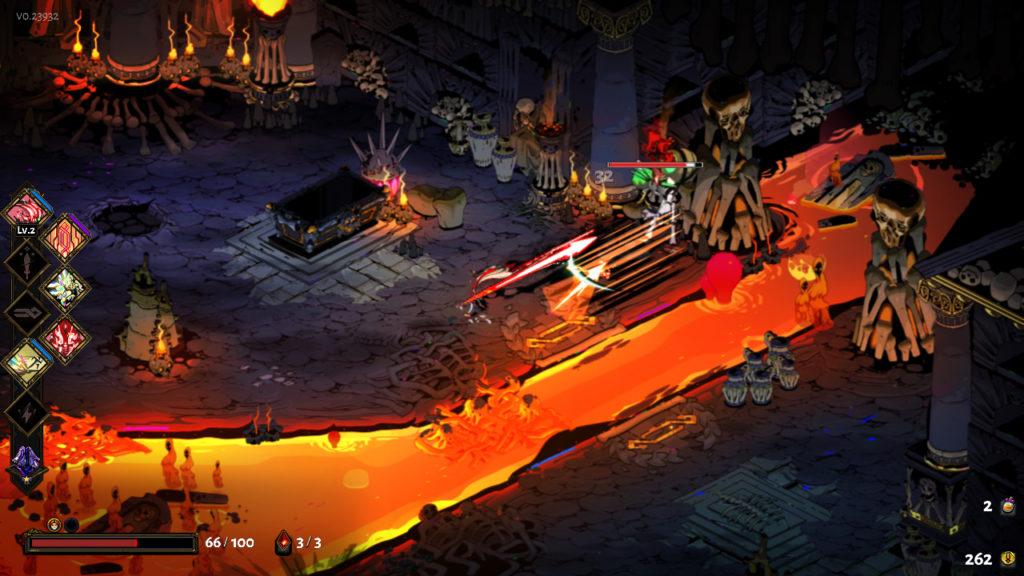Hades gameplay stab stab