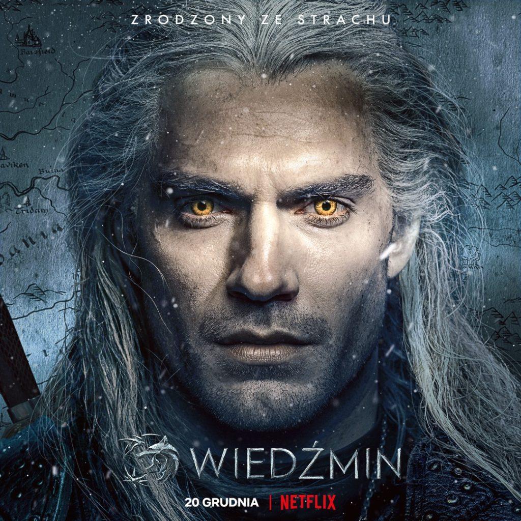 Wiedźmin Geralt Plakat