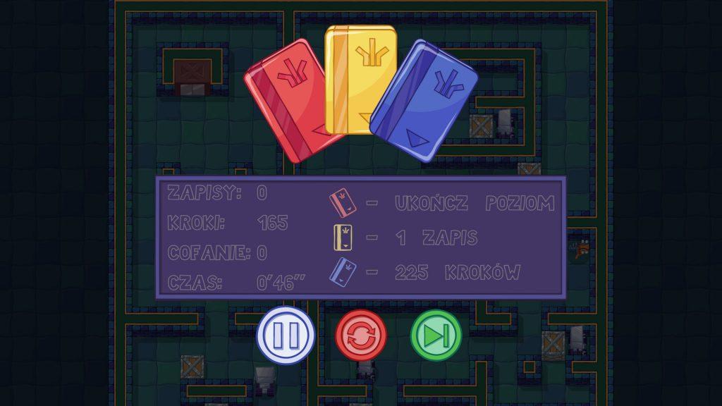 Box Kid Adventures podsumowanie poziomu