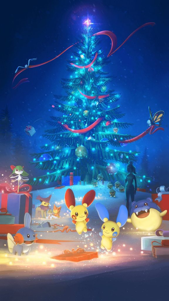 Pokemon GO Loading screen christmas 2017