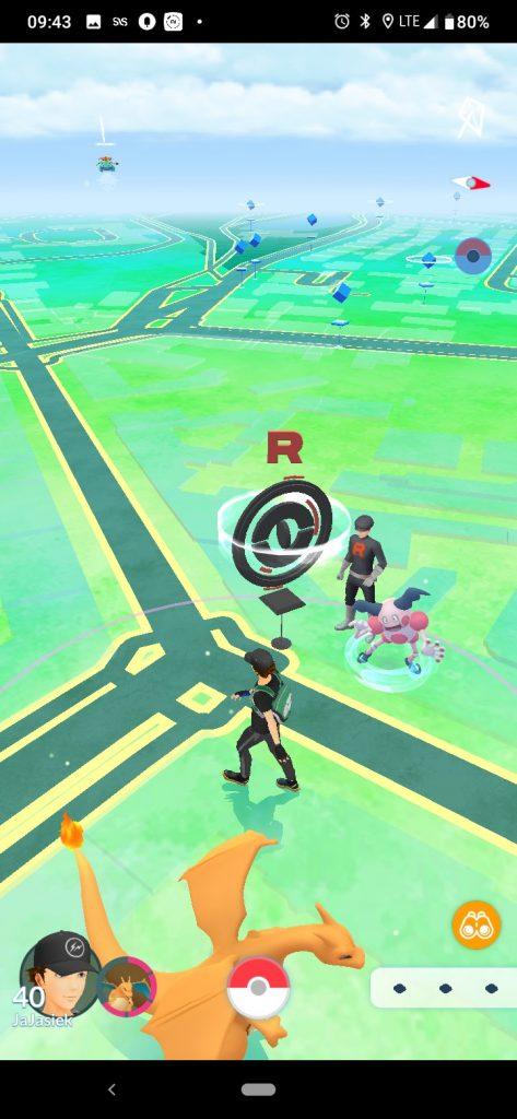 Pokemon GO Pokestop Team Rocket