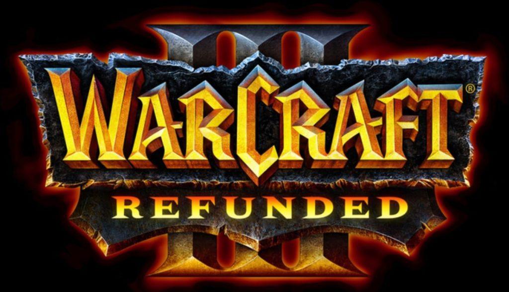 Warcraft 3 Reforged logo Warcraft 3 Refunded