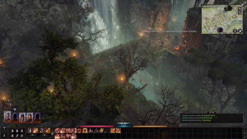 Baldur's Gate 3 ładny widoczek