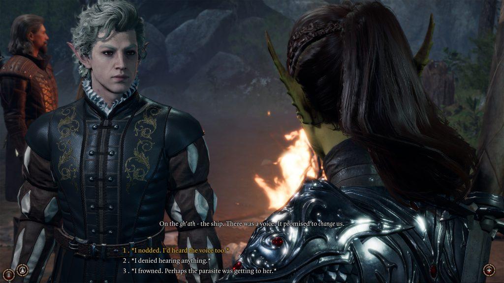 Baldur's Gate 3 rozmowa