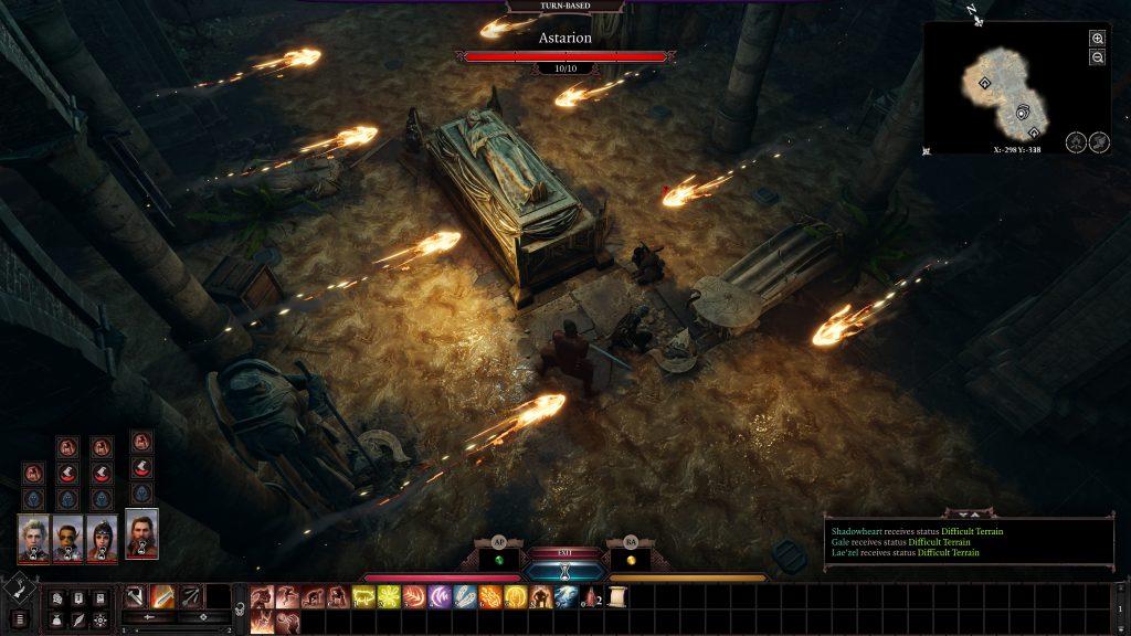 Baldur's Gate 3 typowy pobyt w lochach