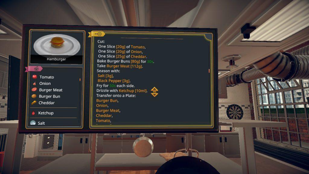 Cooking Simulator Przepis na burgera