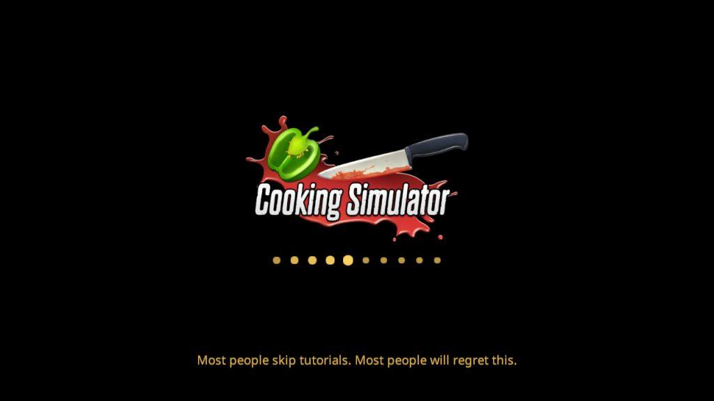Cooking simulator - tutorial