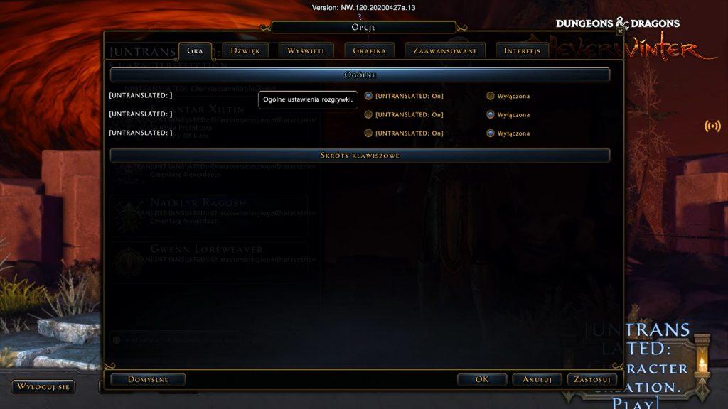 GeForce Now test - Neverwinter działało jakby nie chciało