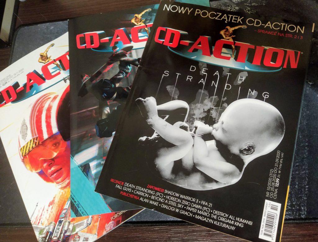 CD-Action Trzy ostatnie numery