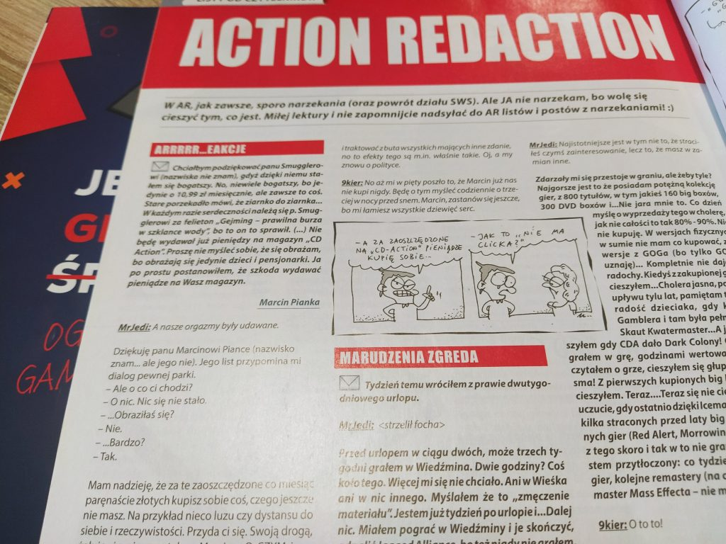 CD-Action Action Redaction