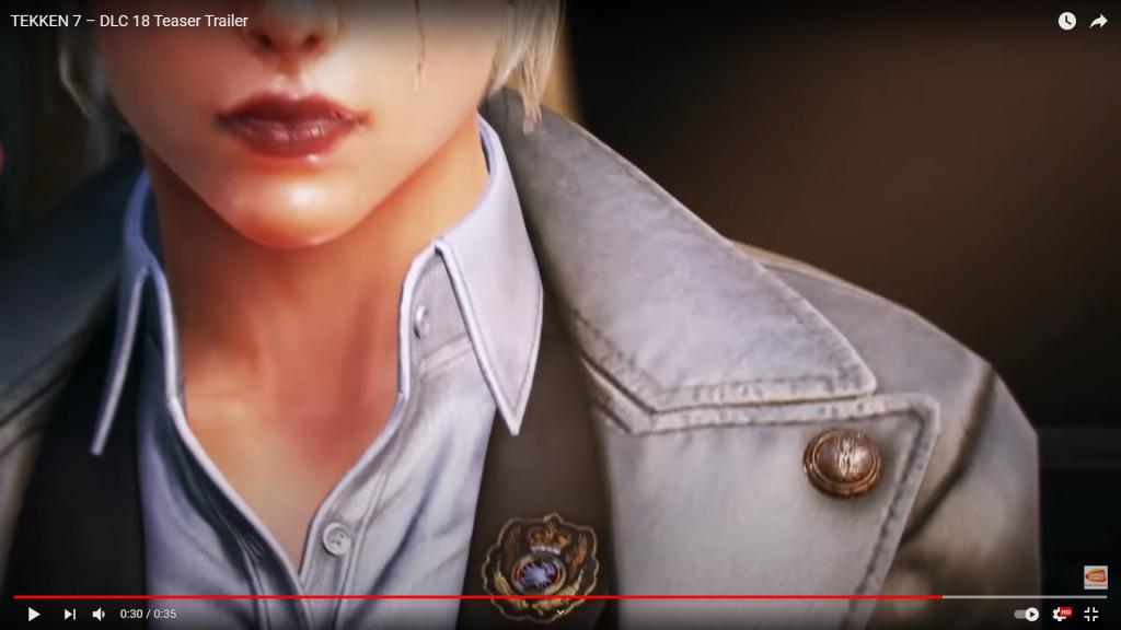Ciri w Tekken 7 Teaser blizna