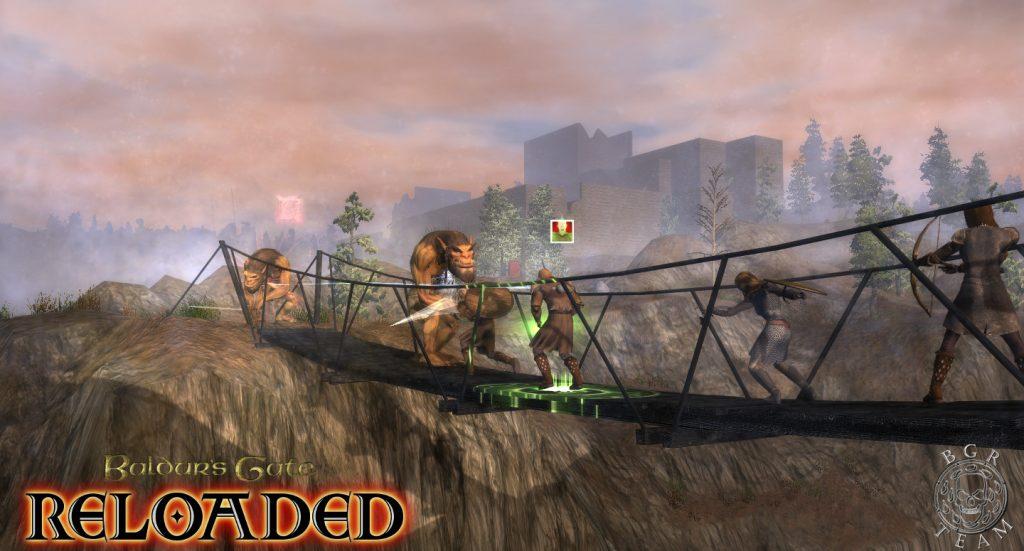 Baldur's Gate Reloaded Twierdza Gnolli