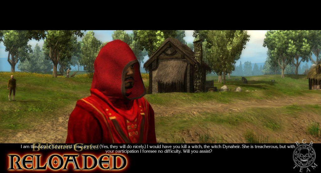 Baldur's Gate Reloaded Edwin